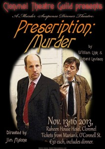Poster Prescription Murder