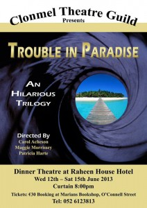 Poster Trouble in Paradise